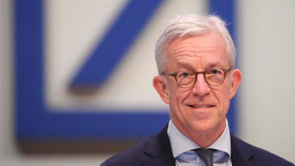 Karl von Rohr, Vorstandsmitglied (Chief Administrative Officer) der Deutschen Bank. Foto: Arne Dedert/dpa/Archivbild