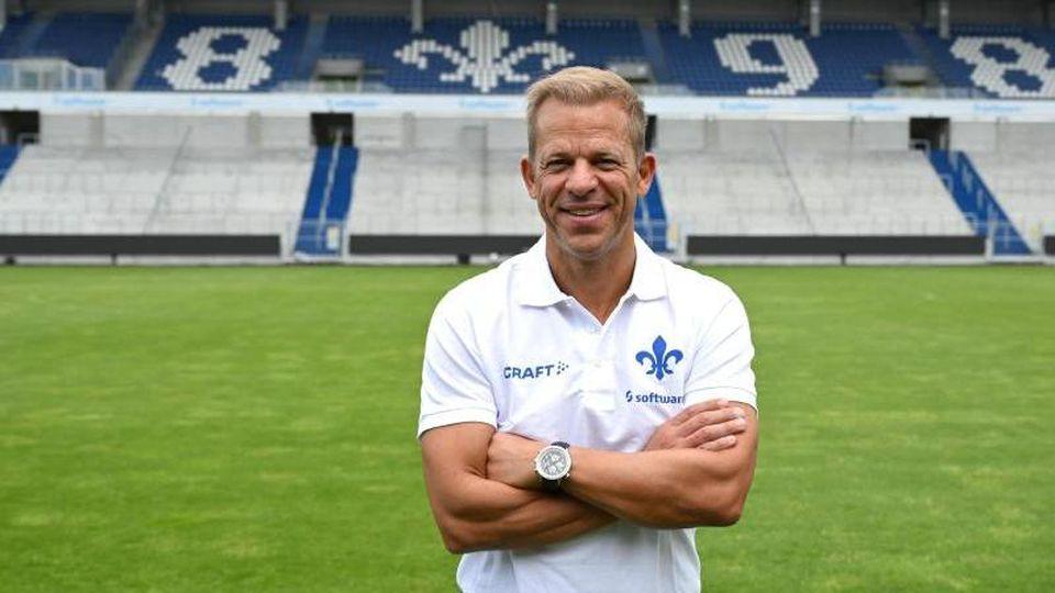 Markus Anfang, neuer Cheftrainer des SV Darmstadt 98. Foto: Arne Dedert/dpa