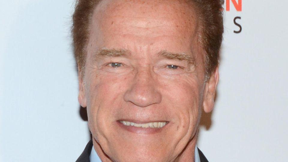 "Arnold Schwarzenegger dreht ""Kung Fury 2"" in München"