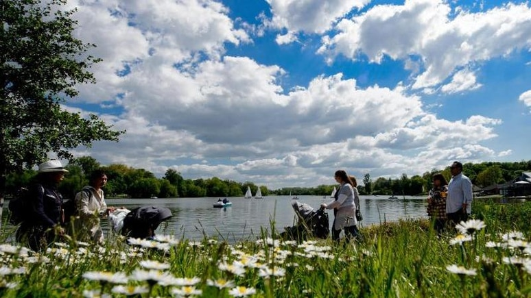 Göttingen ist laut der EU-Umweltagentur EEA die deutsche Stadt mit der besten Luftqualität. Foto: Swen Pförtner/dpa