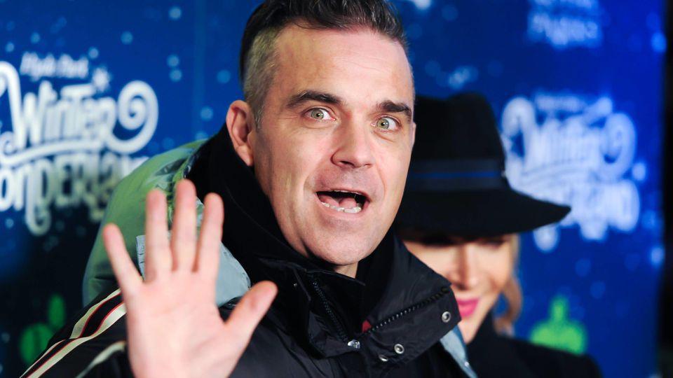 Auf Haiti hätte Robbie Williams 2010  beinahe seinen Kopf verloren