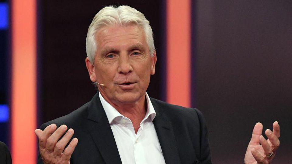 Der ehemalige Fußballspieler Klaus Fischer. Foto: Henning Kaiser/dpa/Archivbild