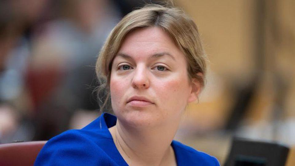 Katharina Schulze, Fraktionsvorsitzende der Fraktion Bündnis 90/Die Grünen. Foto: Sven Hoppe/Archivbild