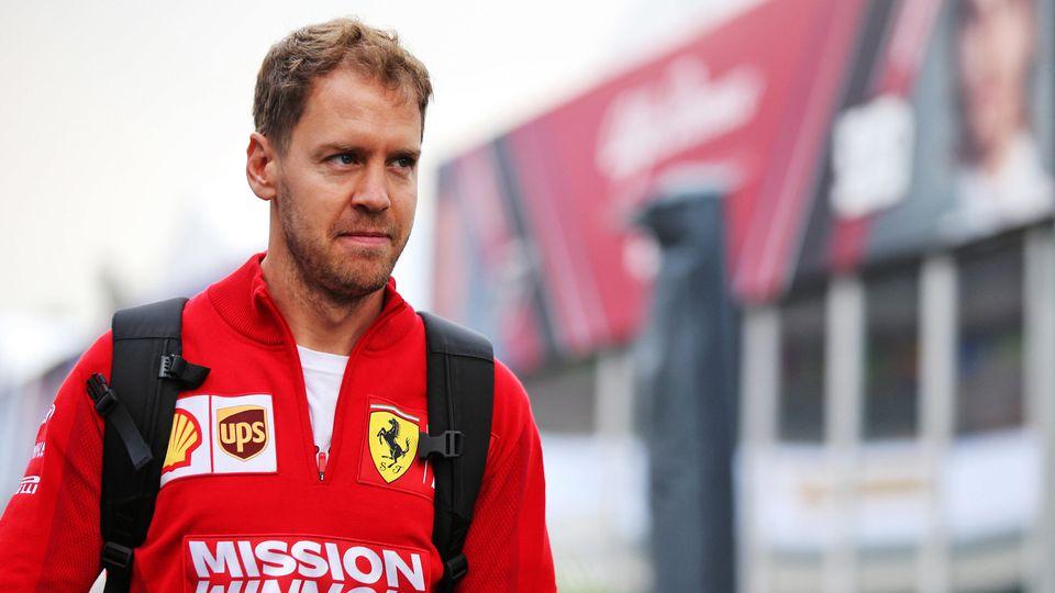 Vettel und Ferrari