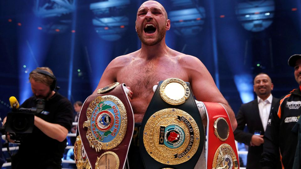 Tyson Fury gilt bei Box-Puristen noch immer als legitimer Schwergewichts-Champion