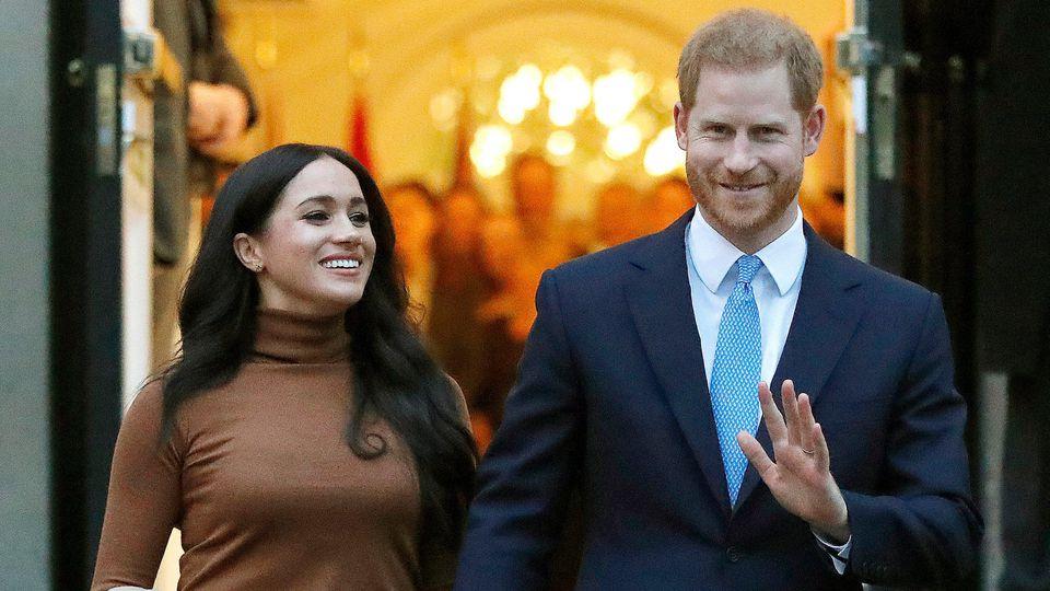 Prinz Harry und Meghan haben beim Megxit auf viel Geld verzichtet.