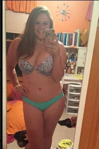 Im fette bikini menschen Sich im