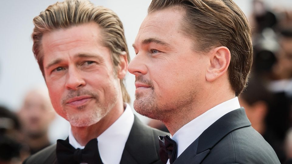 Brad Pitt und Leonardo DiCaprio
