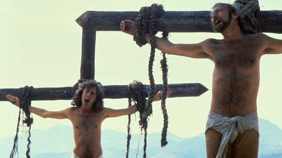 """""""Das Leben des Brian"""" darf trotz Kritik aus Kirchenkreisen in Ausnahmefällen gezeigt werden."""
