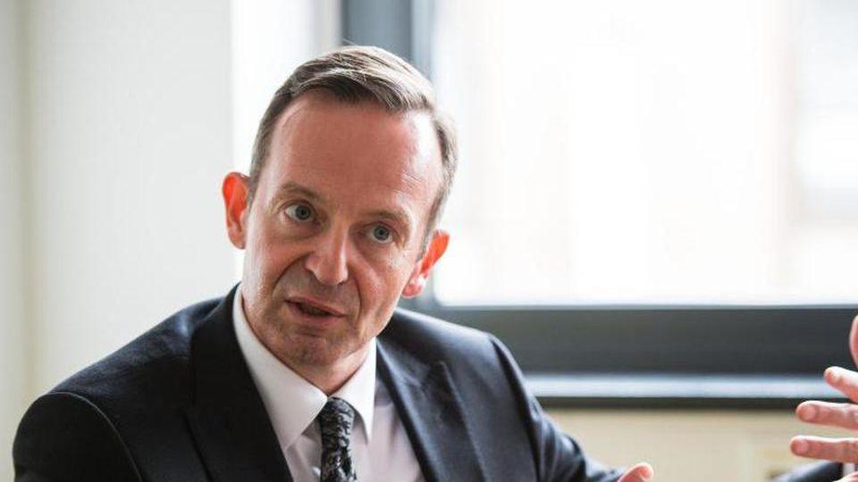 Volker Wissing (FDP) bei einem Interview. Foto: Andreas Arnold/dpa/Archivbild