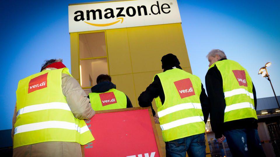 Prime-Day: Mitarbeiter von Amazon streiken für höhere Löhne