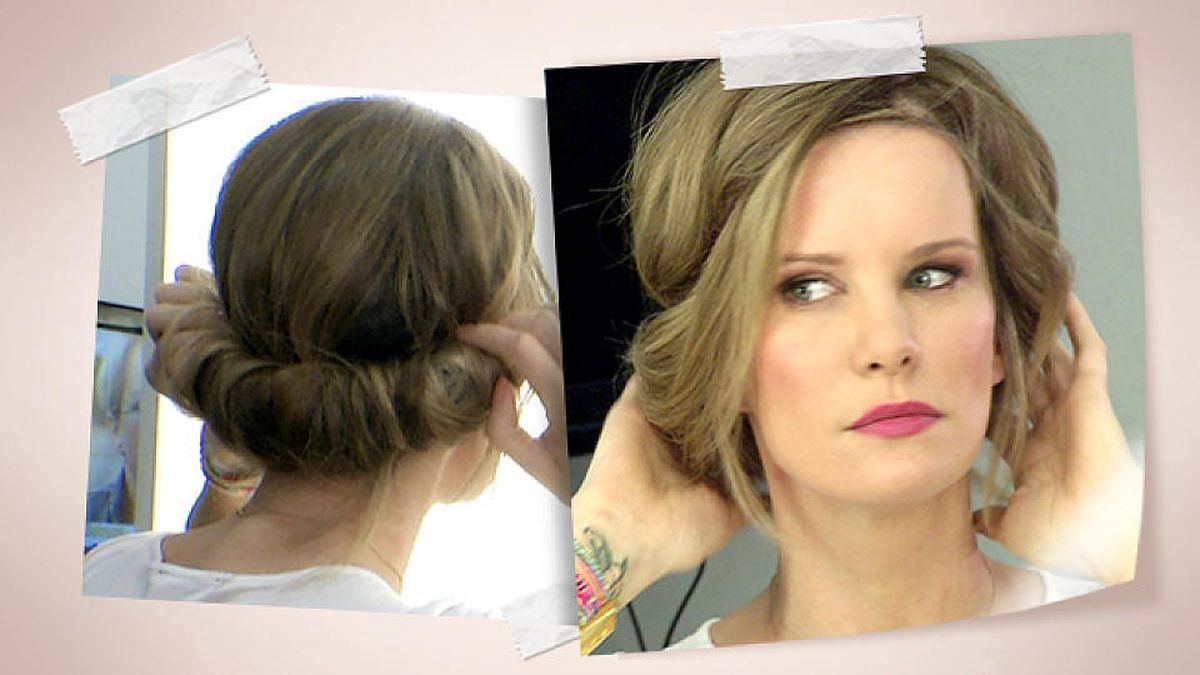 Hippie Frisur Zum Eindrehen Video Tutorial Mit Monica Ivancan