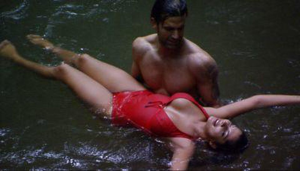 Dschungelcamp 2011 Jay Khan Und Indira Weis In Dirty Dancing
