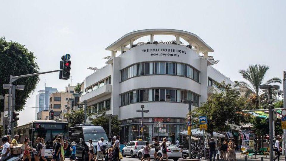 Bauhaus-Architektur in Tel Aviv. Foto: Ilia Yefimovich