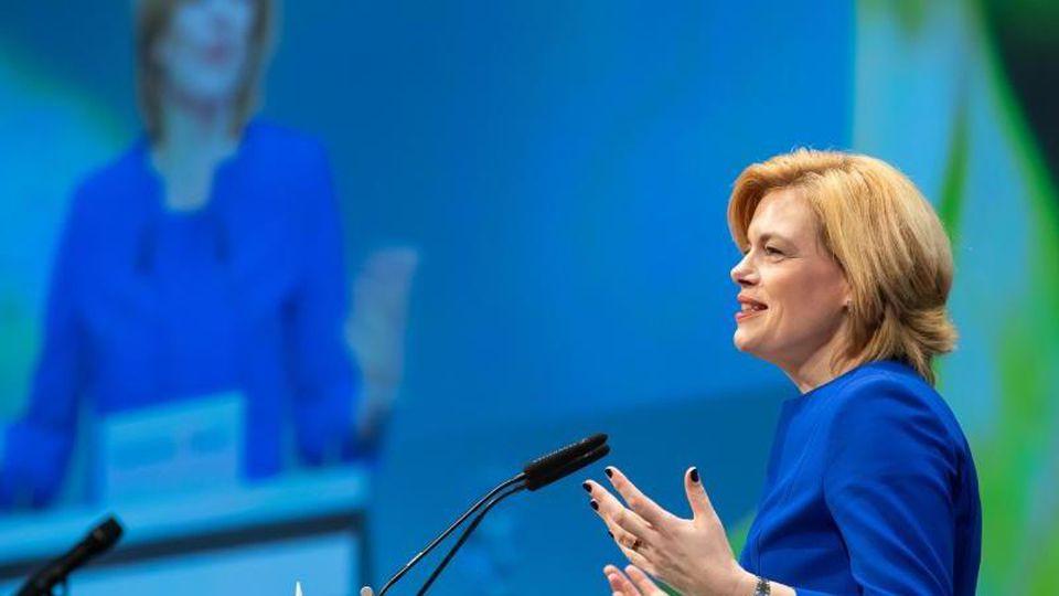 Julia Klöckner (CDU), Bundesministerin für Ernährung und Landwirtschaft. Foto: Daniel Karmann/Archiv