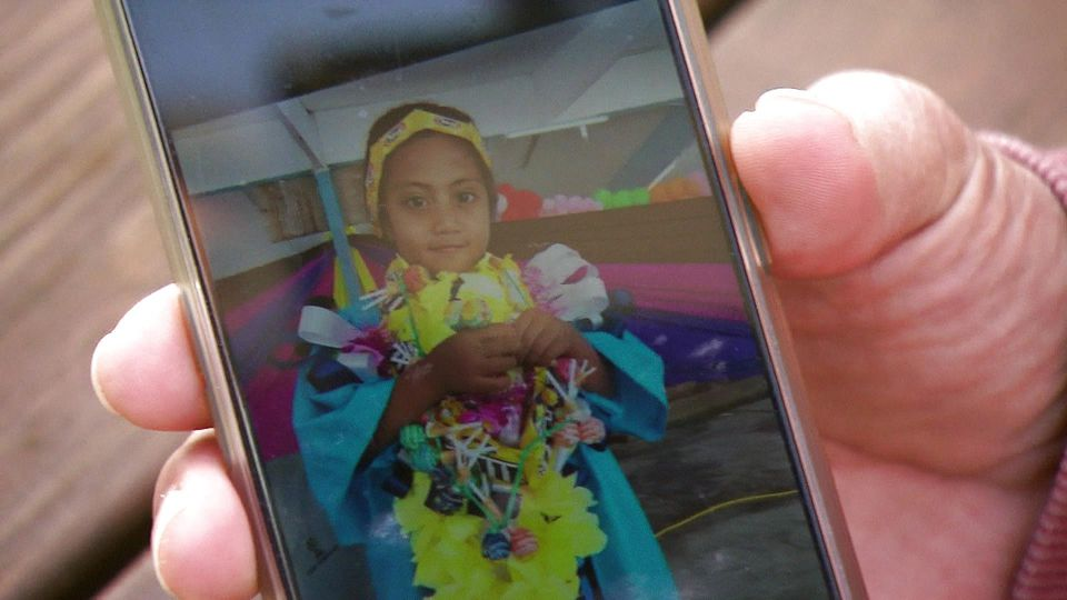 Tebuka Raratus sechsjährige Tochter vermisst ihren Papa sehr.