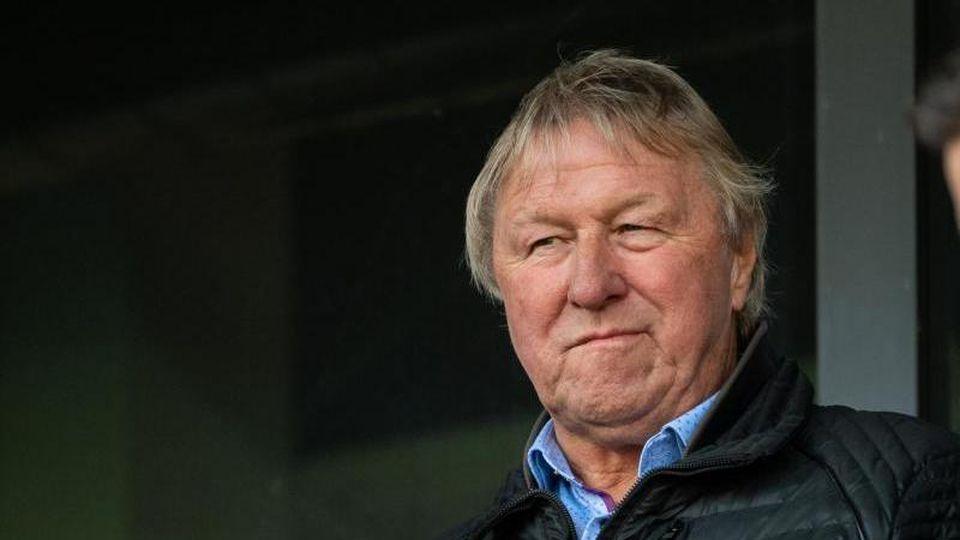 Der ehemalige Frauen-Bundestrainer Horst Hrubesch. Foto: Sebastian Gollnow/Archivbild