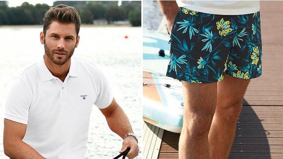 Schlichte Shirts und bunte Hosen: Das sind die Must-haves für Männer!