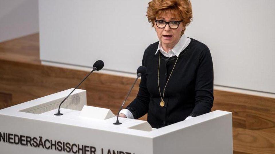 Barbara Havliza (CDU), Justizministerin von Niedersachsen. Foto: Sina Schuldt/dpa/Archivbild
