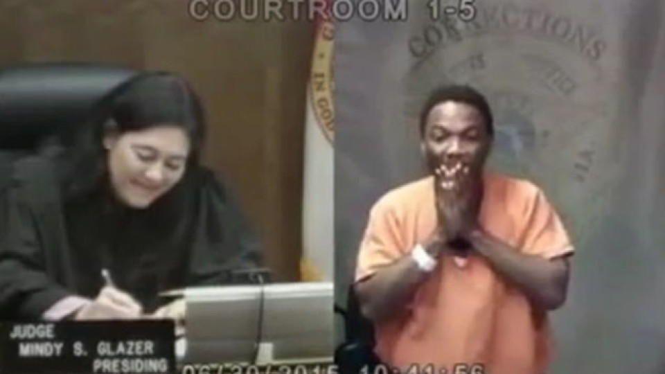 Richterin Angeklagter Miami