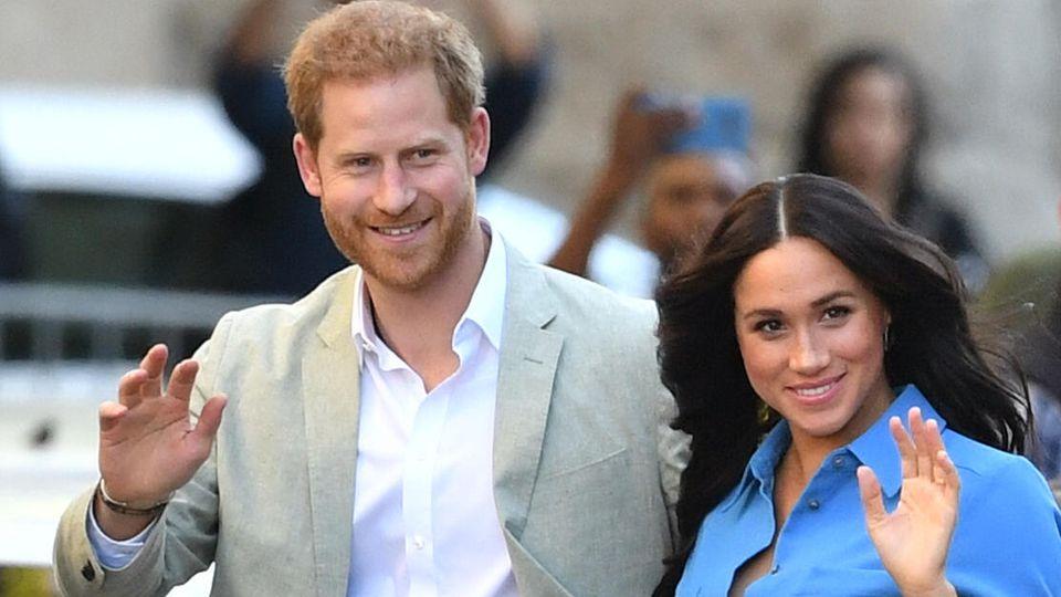 Hier ließ Prinz Harry seinen grauen Anzug ausnahmsweise mal zuhause.