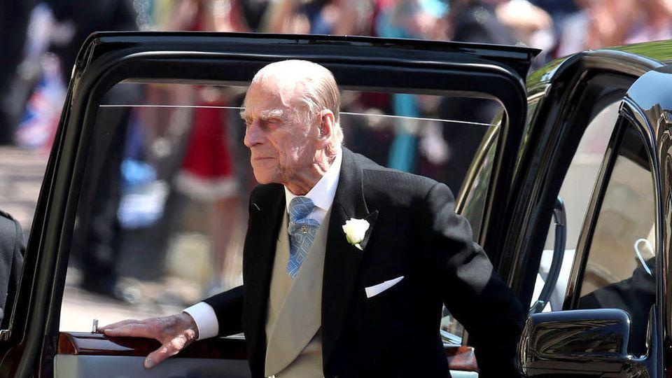Prinz Philip fuhr häufig selbst Auto