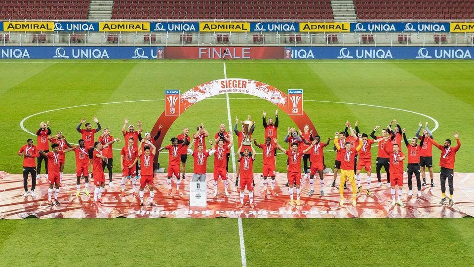 29.05.2020, Woerthersee Stadion, Klagenfurt, AUT, UNIQA OeFB Cup, FC Red Bull Salzburg vs SC Austria Lustenau, Finale,