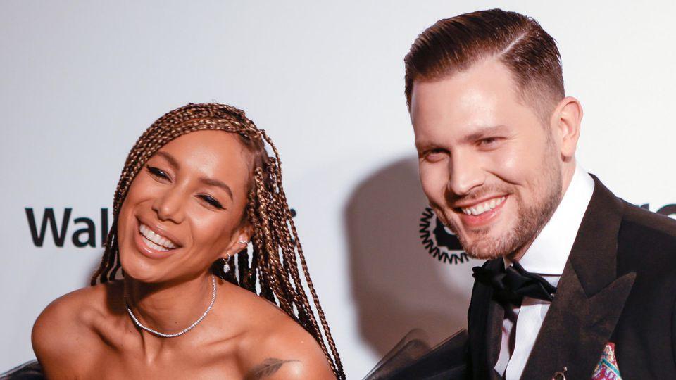 Leona Lewis und Dennis Jauch sind super happy als Ehepaar.