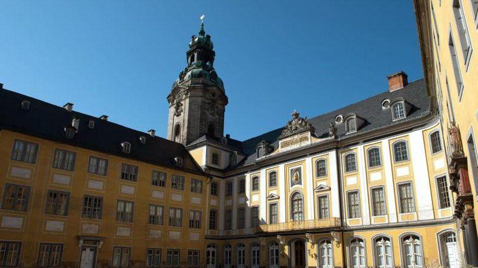 Das Schloss Heidecksburg. Foto: Sebastian Kahnert/Archivbild