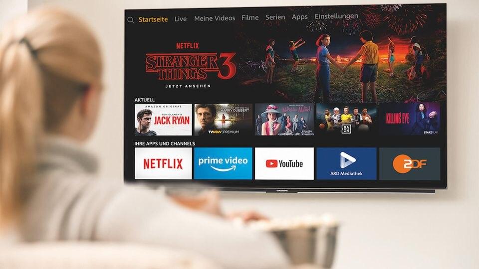 """Die Grundig """"OLED – Fire TV Edition""""-Fernseher werden ab dem 28. Oktober 2019 ausgeliefert."""