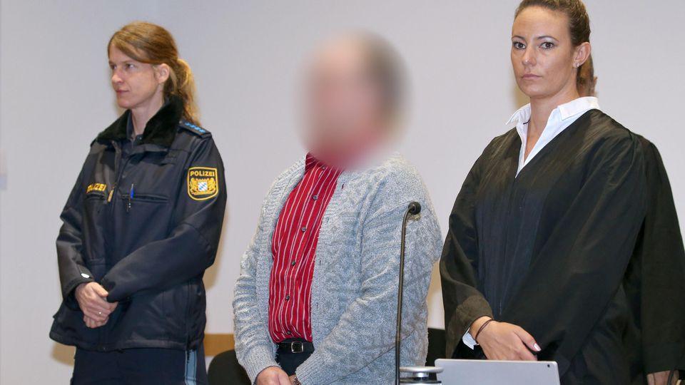 """Mutmaßlicher """"Gülle-Mörder"""" in Augsburg vor Gericht."""