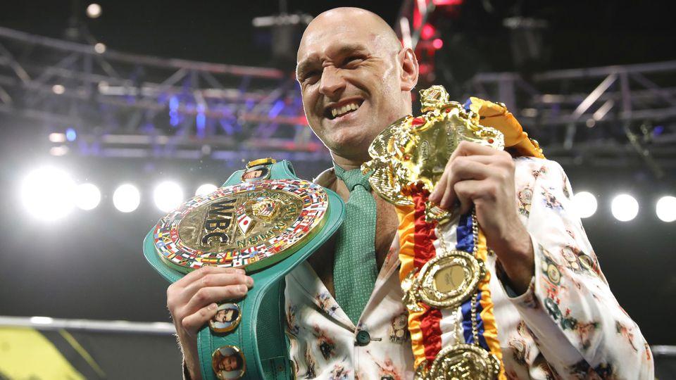 Tyson Fury boxt am 14. August gegen Anthony Joshua.