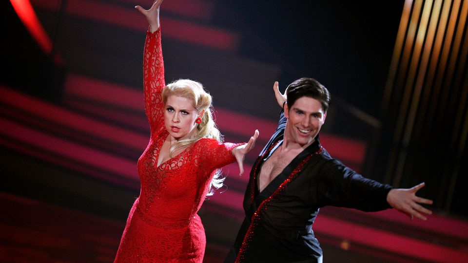 "Christian Polanc und Maite Kelly 2011 bei ""Let's Dance""."