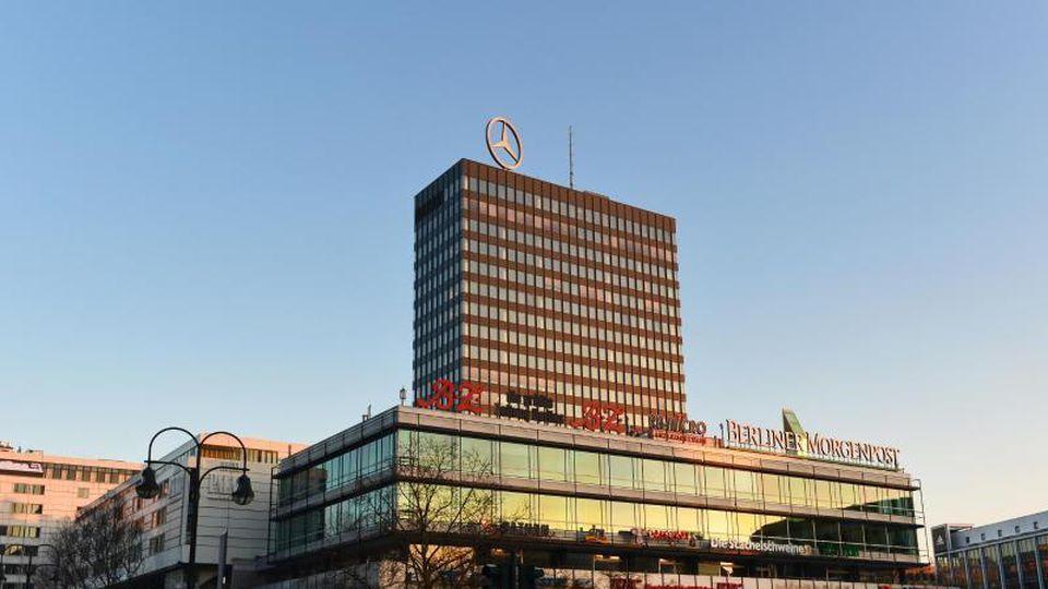 Das Europa-Center auf dem Breitscheidplatz am Kurfürstendamm. Foto: Jens Kalaene/dpa-Zentralbild/dpa/Archivbild