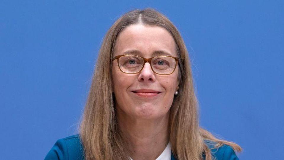 Barbara Praetorius, die ehemalige Co-Vorsitzende der Kohlekommission. Foto: Jörg Carstensen/dpa/Archivbild