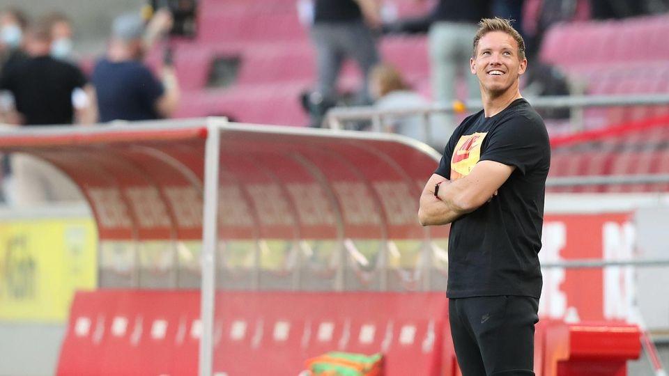 Fussball: 1. Bundesliga: Saison 19/20: 29. 1.FC Köln , KOELN - RB Leipzig Julian Nagelsmann , Sport: Fussball: 1. Bunde