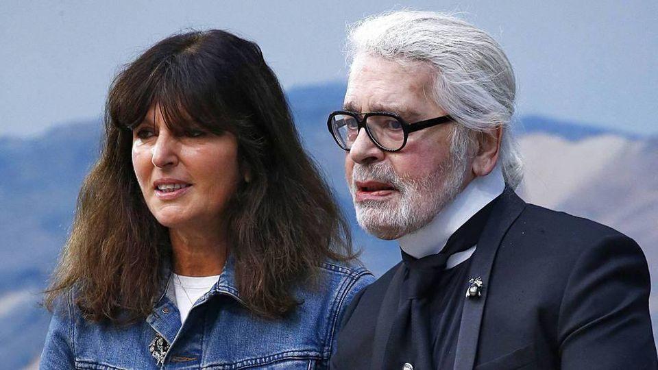 Virginie Viard wird die Chanel-Nachfolgerin von Karl Lagerfeld