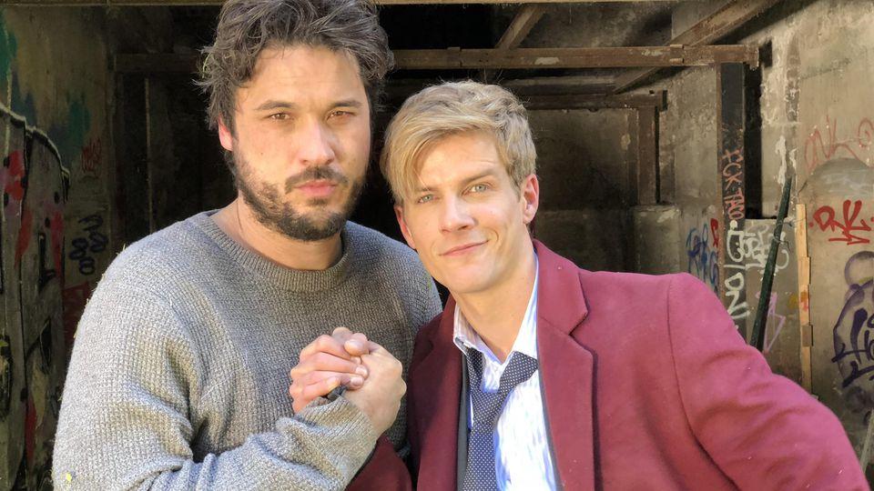 """Unter uns""-Stars Alexander Milo und Sebastian Kolb"