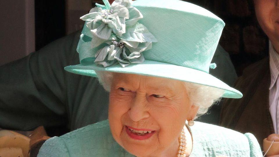 Queen Elizabeth II. bei einem Auftritt in London