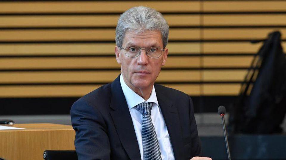 Thüringens Bildungsminister Helmut Holter. Foto: Martin Schutt/Archiv