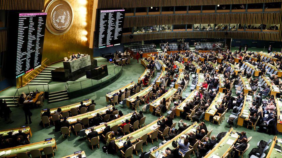 UN-Vollversammlung verurteilt Jerusalem-Entwicklungen