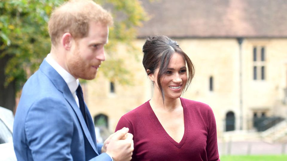 Prinz Harry und Herzogin Meghan wohnen angeblich jetzt in Los Angeles