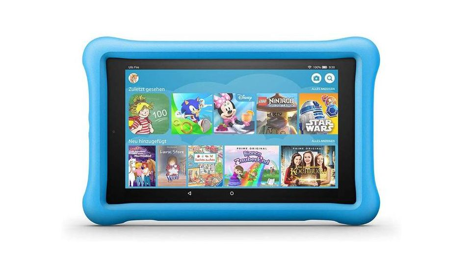 Amazon Fire HD Tablet Kids Edition.