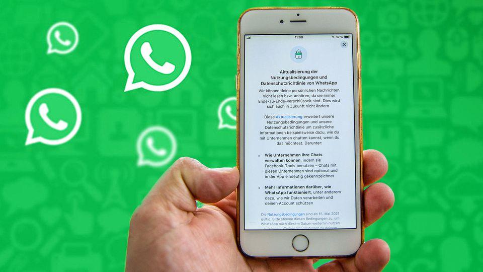 Die WhatsApp Datenschutz-Bestimmungen ändern sich ab dem 15. Mai.