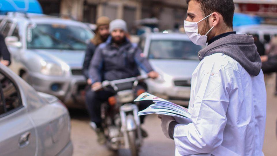A Campaign To Prevent Corona Virus In Idlib Governorate