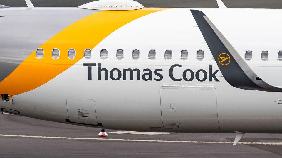 Insolvenz Thomas Cook - Tochter Condor am Düsseldorfer Flughafen