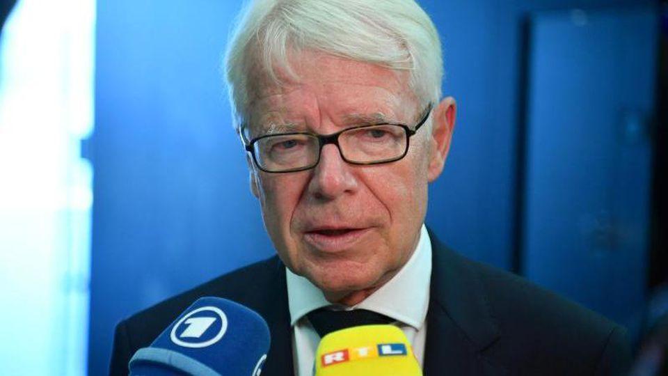 DFL-Präsident Reinhard Rauball. Foto: Soeren Stache