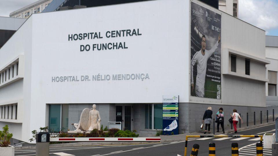 Madeira Busunglück - Krankenhaus