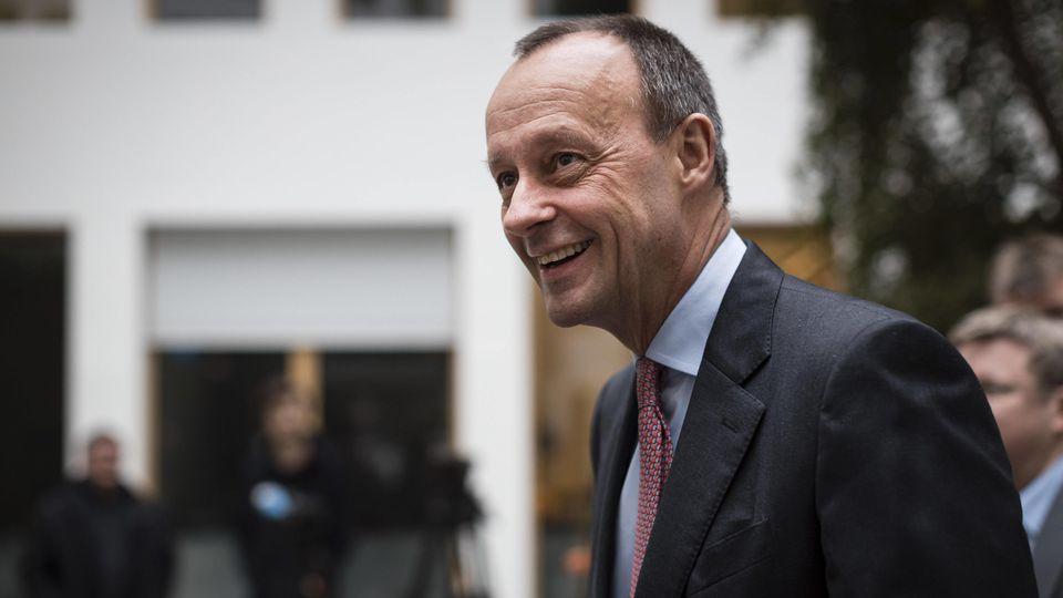Friedrich Merz lehnte offenbar einen Posten im Kabinett Merkel ab.