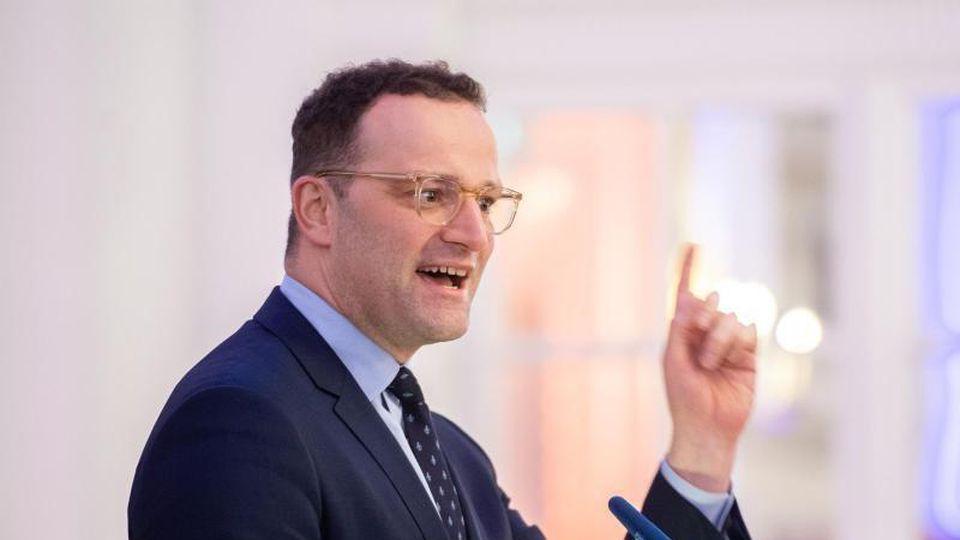 Jens Spahn (CDU), Bundesgesundheitsminister. Foto: Daniel Reinhardt/dpa